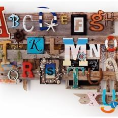 Alphabet Wall Piece