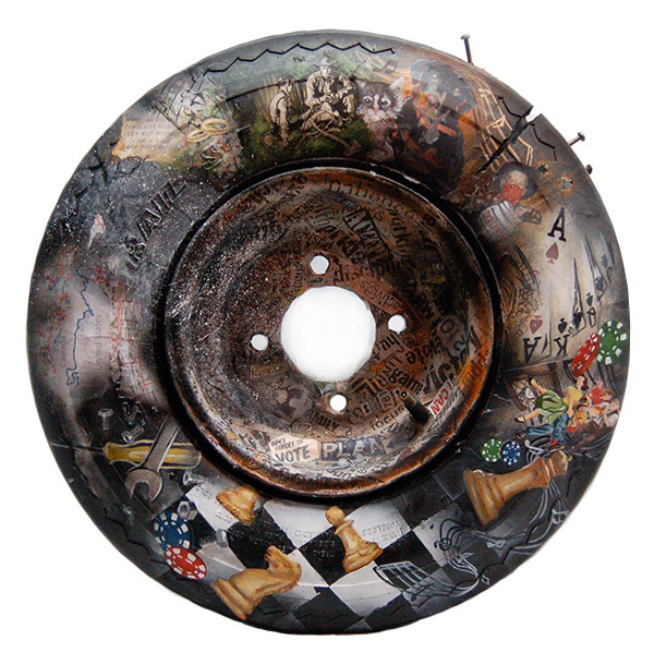 Painted Tire